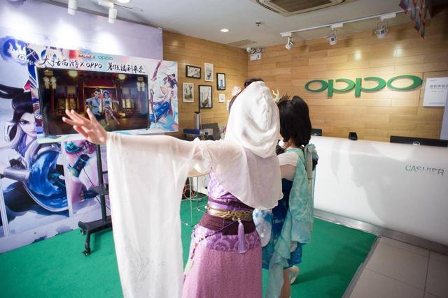 国风经典 x 潮机OPPO,游戏联运为龙族资料片造势